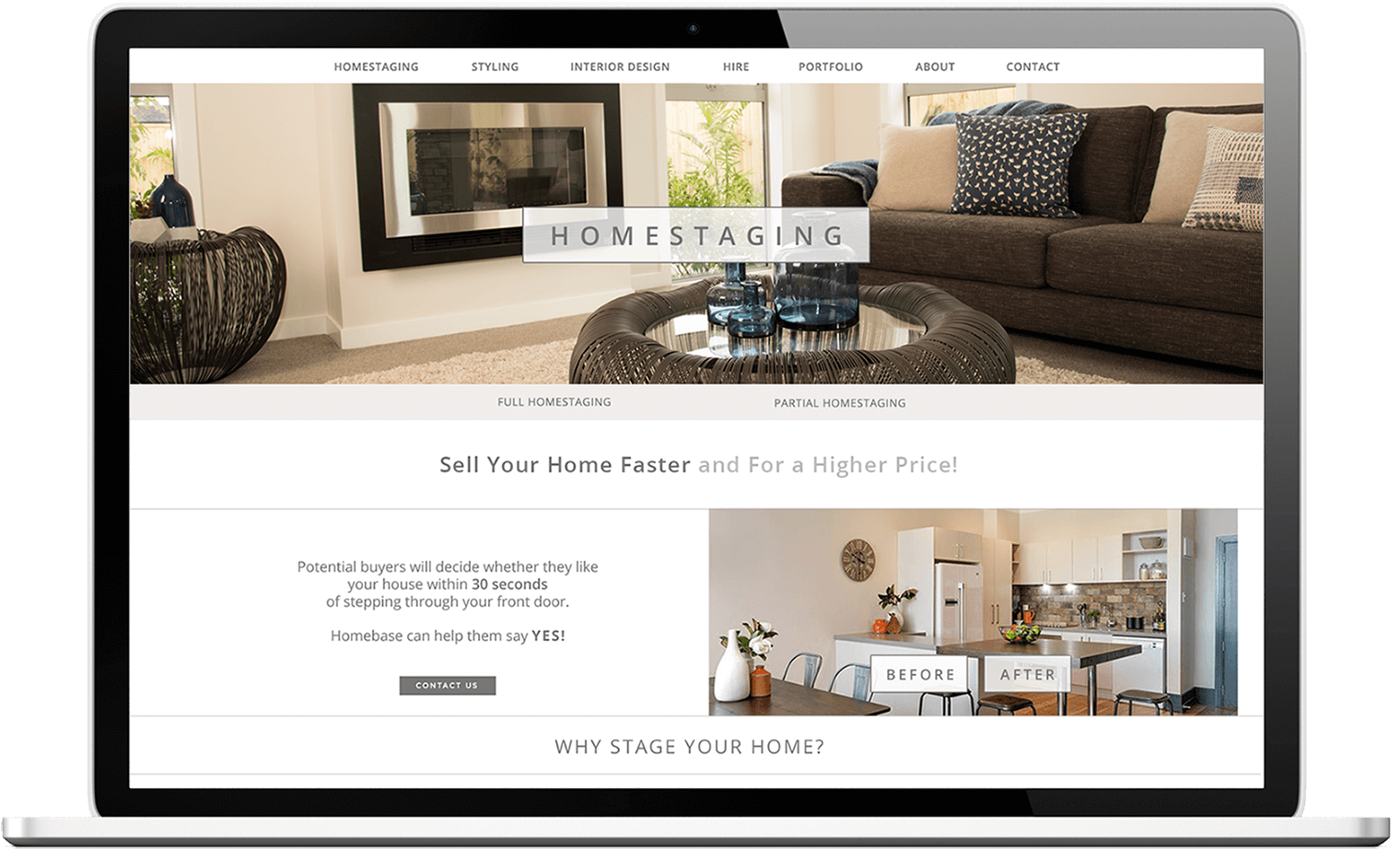 homebase view in laptop - Homebase