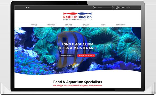 Redfish Bluefish website after re design - RedFish BlueFish