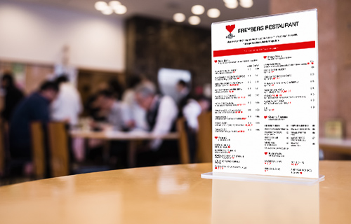 Restaurant website and menu design thumbnail
