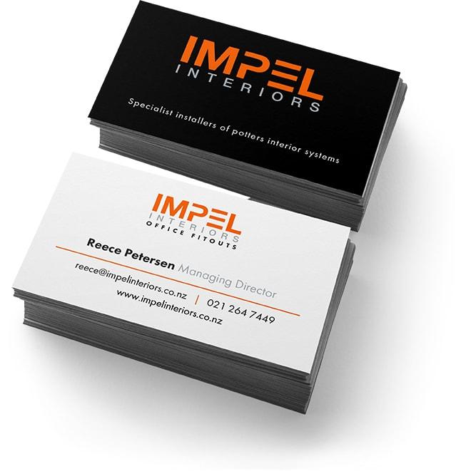 Impel Business Card - Impel Interiors