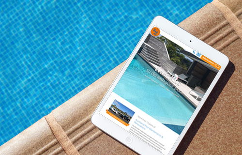 The Pool Man Website Design project thumbnail