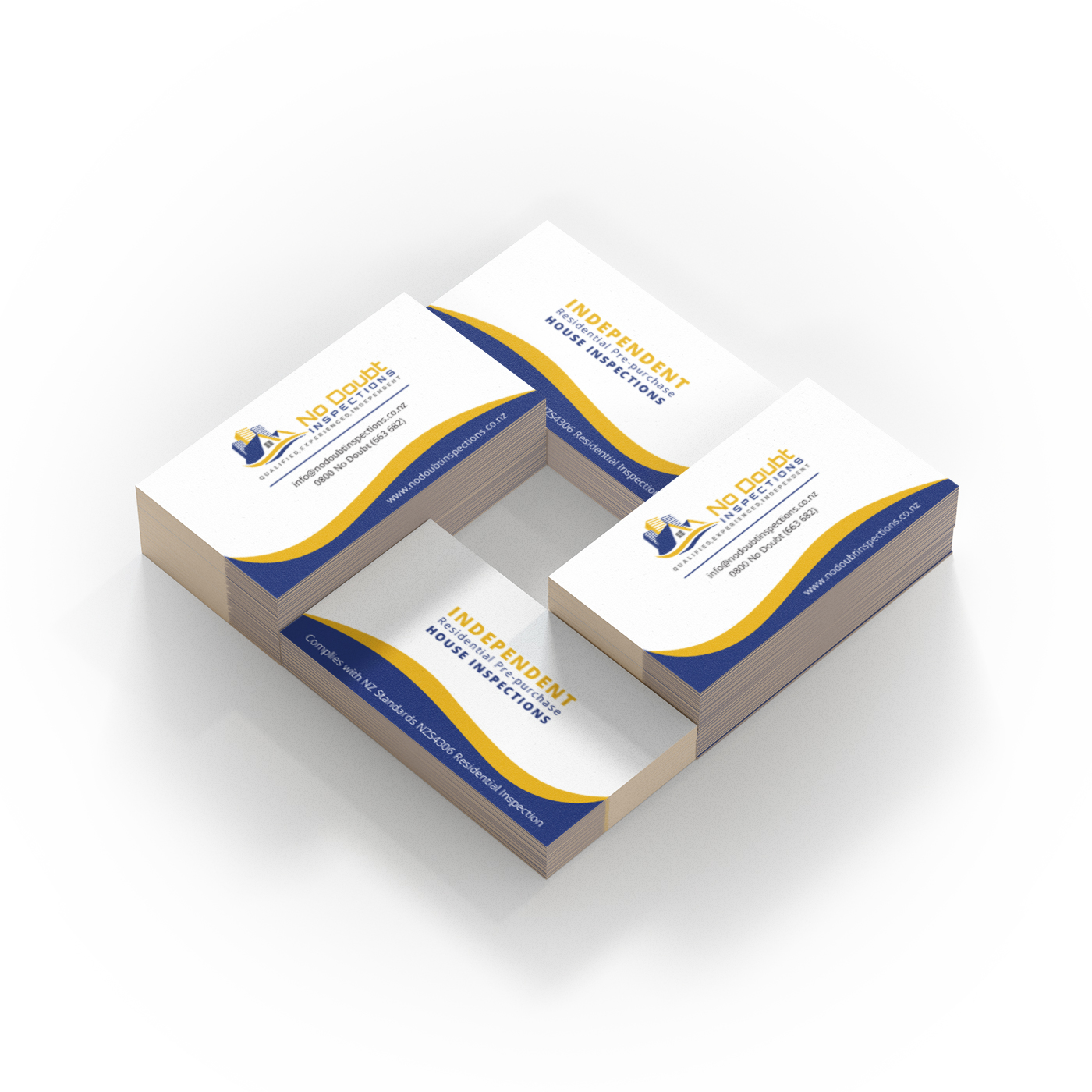 No Doubt Business Card Design - Graphic Design