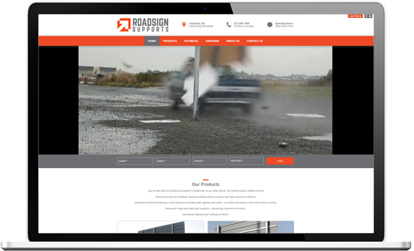 After Roadsign Supports Web design
