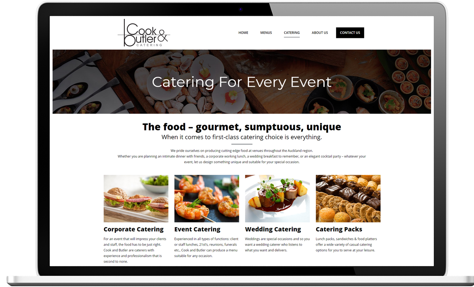 Cook and Butler Website Re design Desktop - Cook & Butler Website Design and SEO