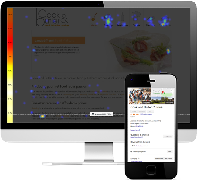 Local SEO and online marketing for Cook & Butler