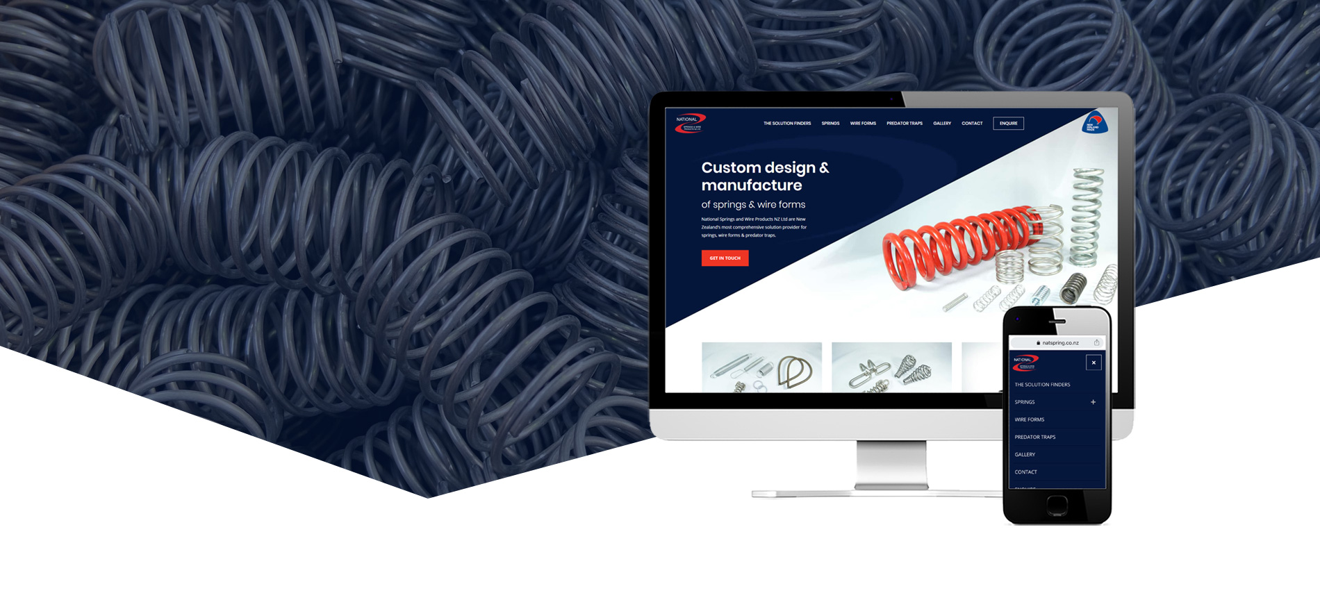 National Springs Project Banner - National Springs & Wire Products