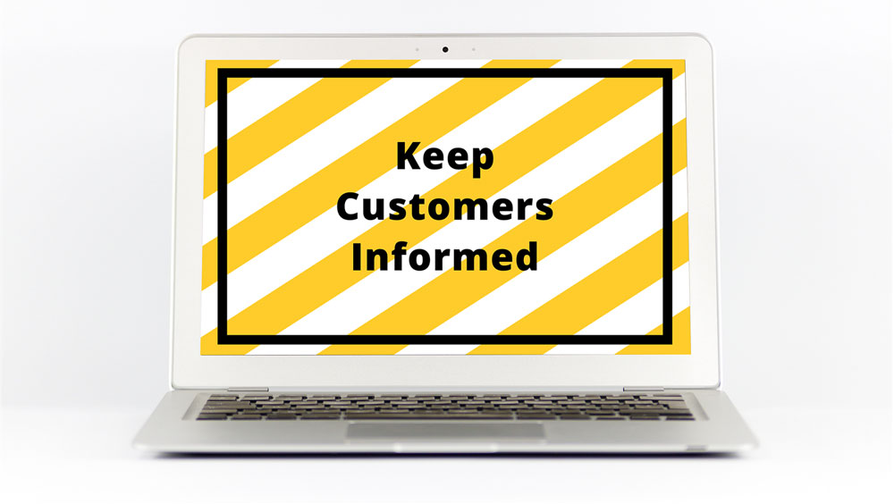Covid 19 Banner thumbnail - Keep customers informed with a Covid-19 website banner