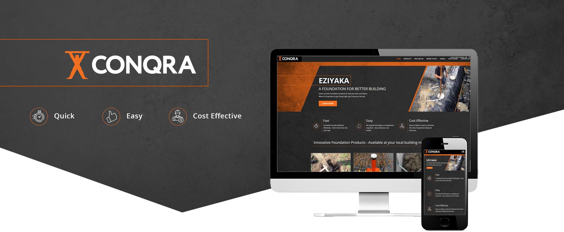 EZIYAKA Website Project Banner - Eziyaka Foundations Ltd